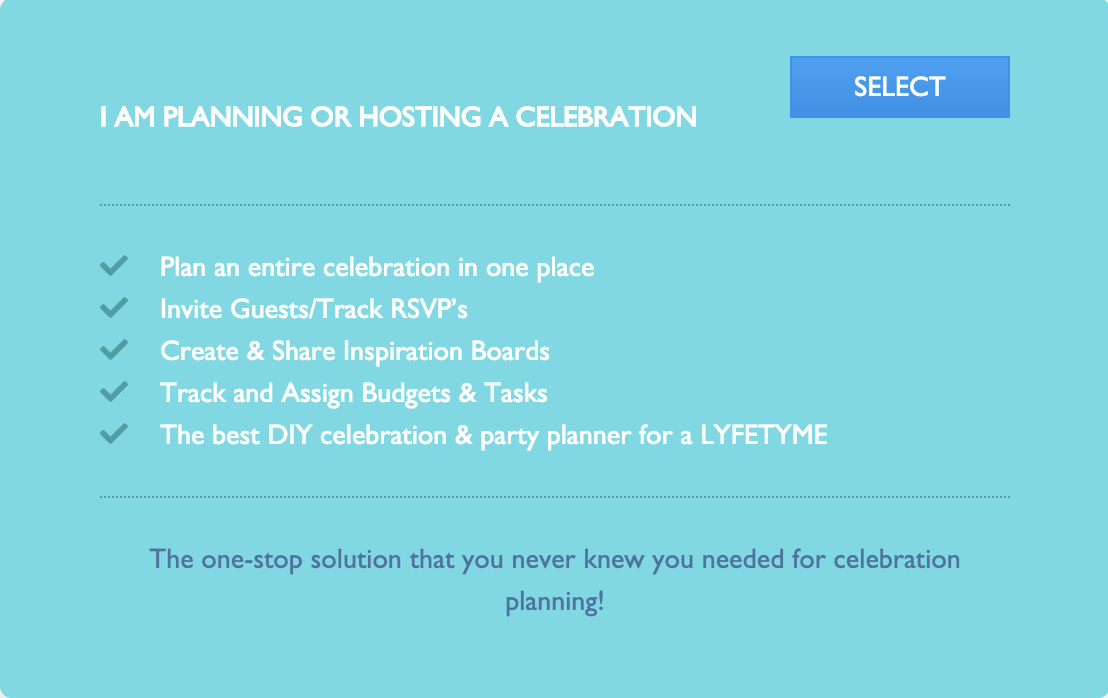 Plan or Host a Celebration or Party, Invite Co-Hosts or Guest of Honor